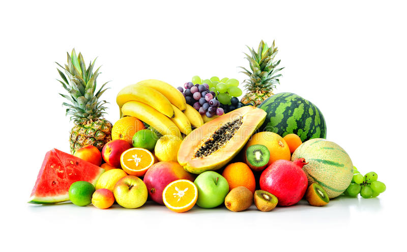 Surtido de frutas exóticas foto de archivo