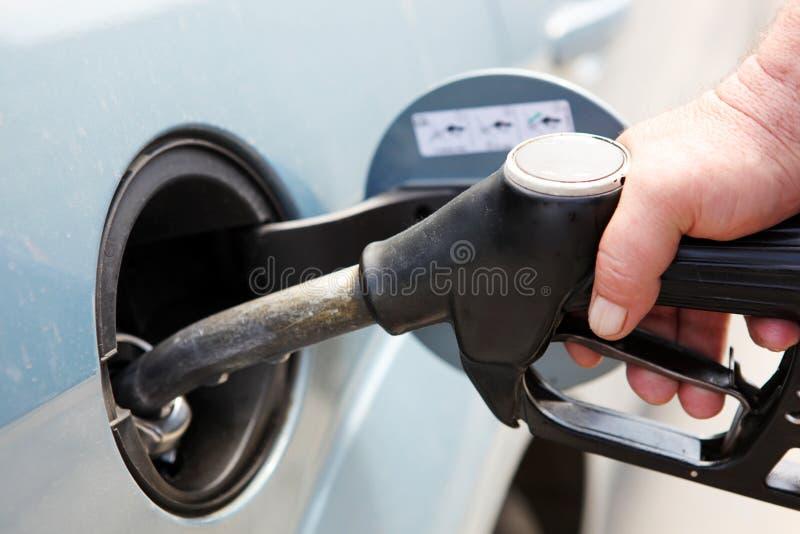 Surtidor de gasolina fotos de archivo libres de regalías