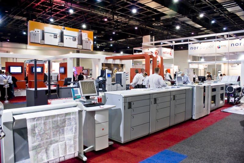 Surtidor de la impresora laser del color - muestra África 2010 fotos de archivo libres de regalías