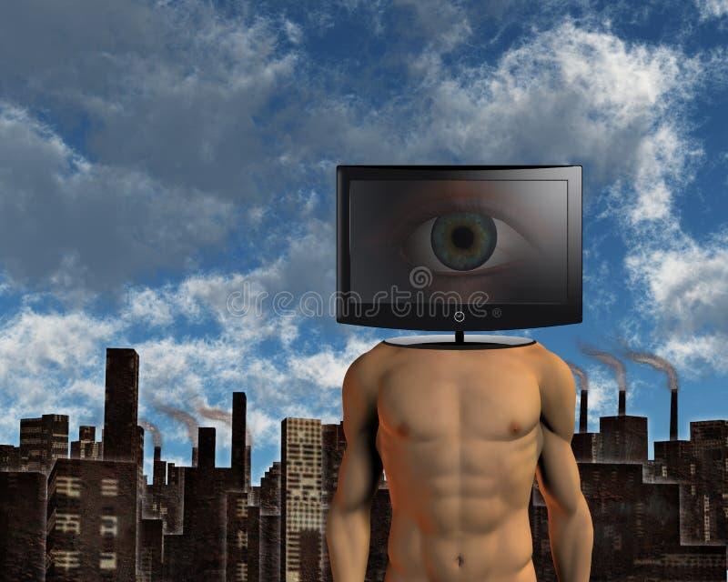 Surveillance illustration de vecteur