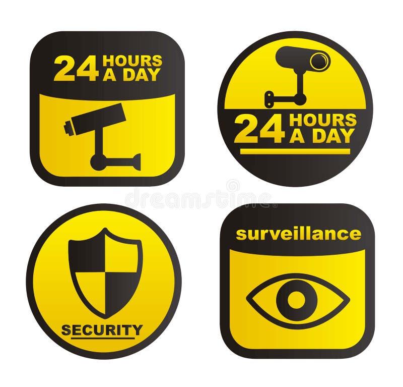 Surveillance illustration libre de droits