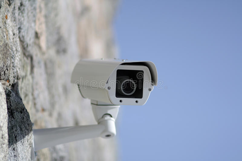 Download Surveillance camera stock photo. Image of guard, equipment - 12795438