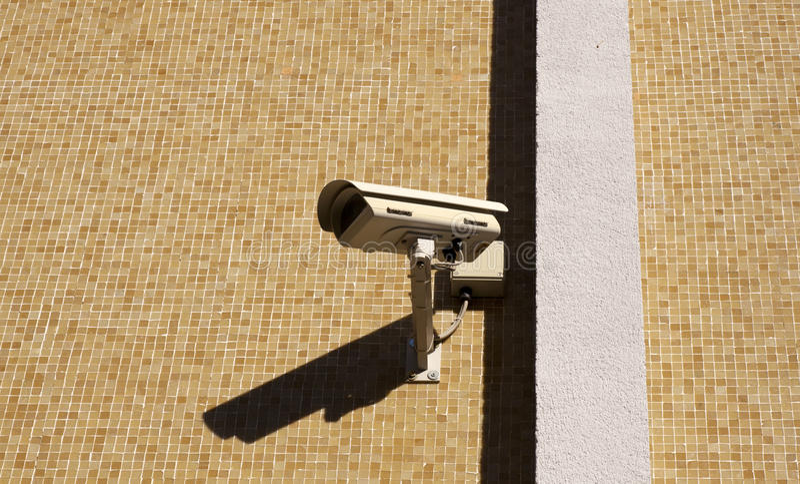 Download Surveillance camera stock photo. Image of observe, pole - 24804588