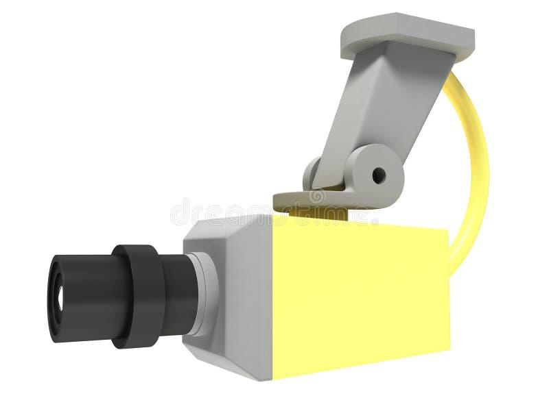 Download Surveillance camera stock illustration. Image of mounted - 32903254