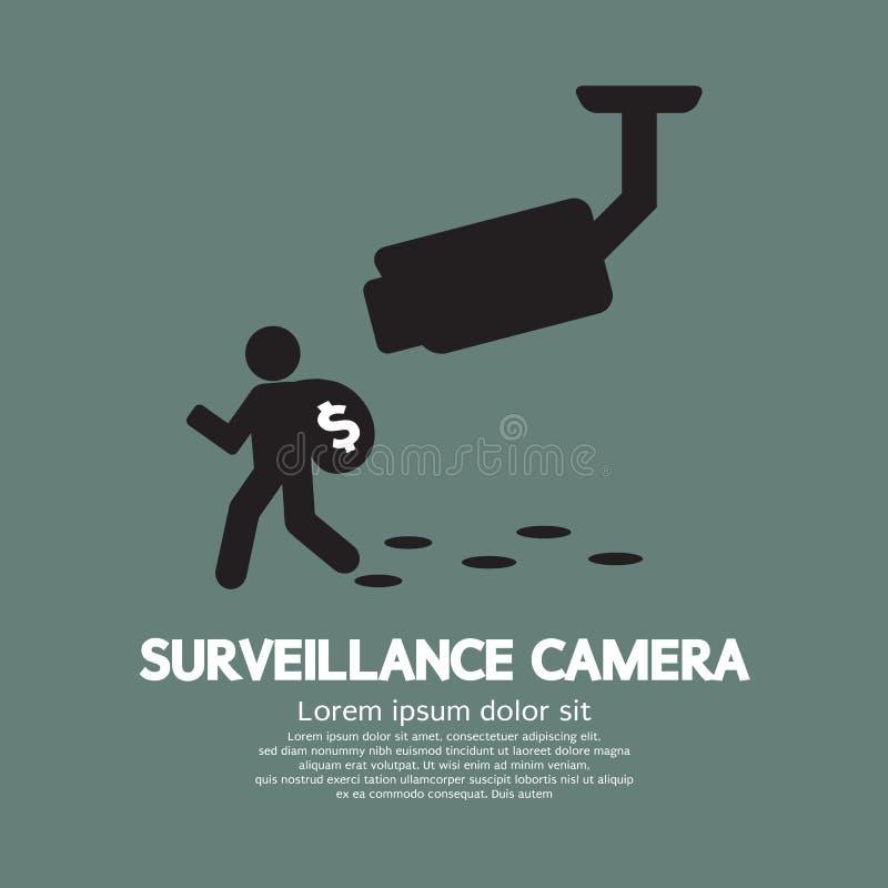 Surveillance Camera stock illustration