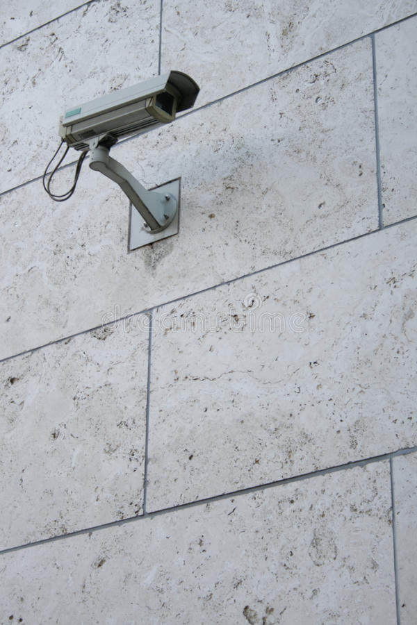 Download Surveillance Camera In Waterproof Housing Stock Image - Image: 9364087