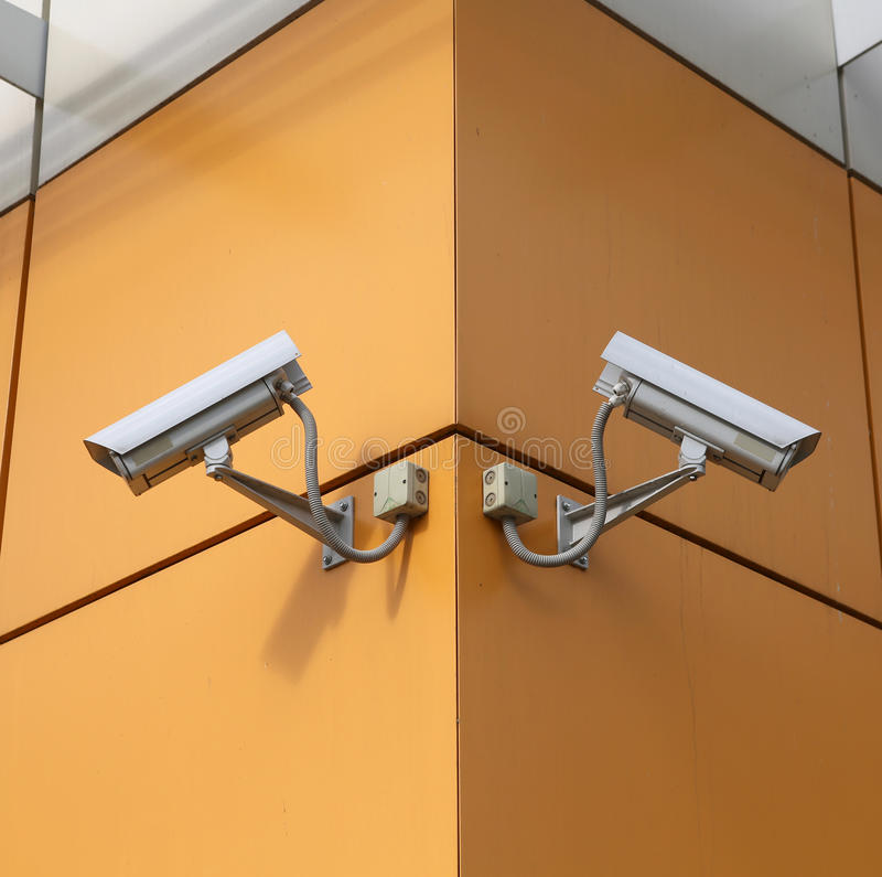 Download Surveillance cameras stock photo. Image of data, city - 25602522