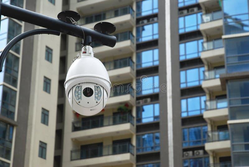Download Surveillance cameras stock image. Image of building, observation - 33947437