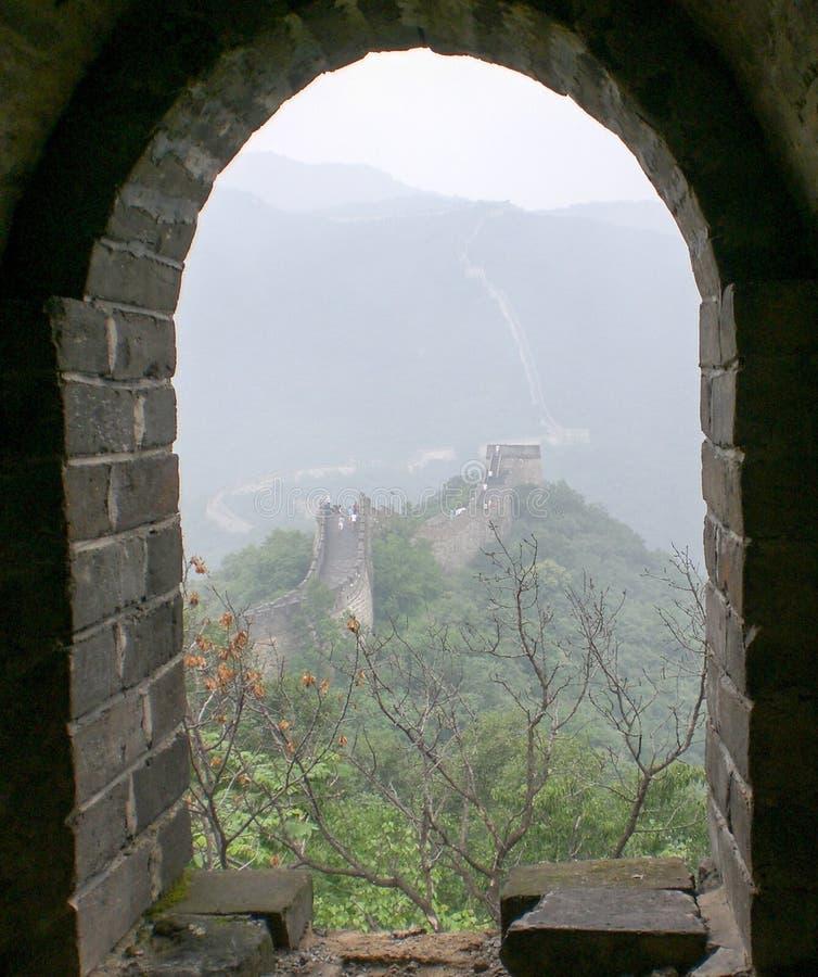 Surveillance de Grande Muraille photos stock