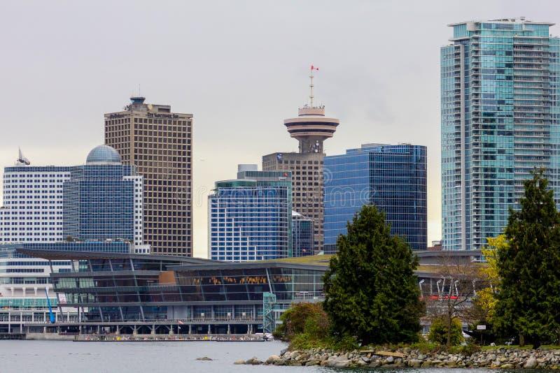 Surveillance de Vancouver, Colombie-Britannique image libre de droits