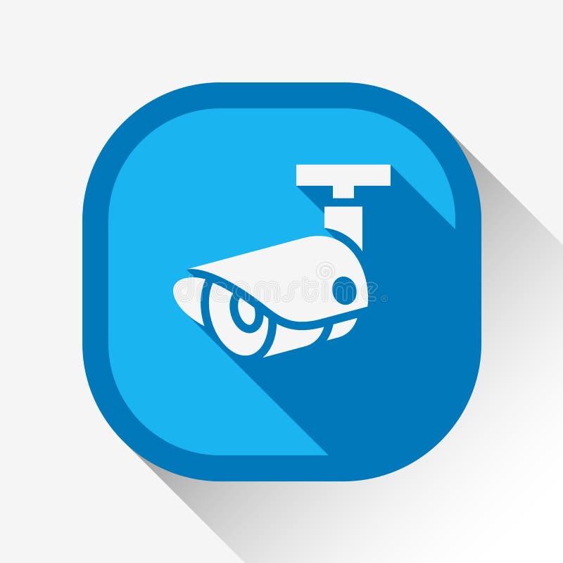 Surveillance visuelle illustration stock
