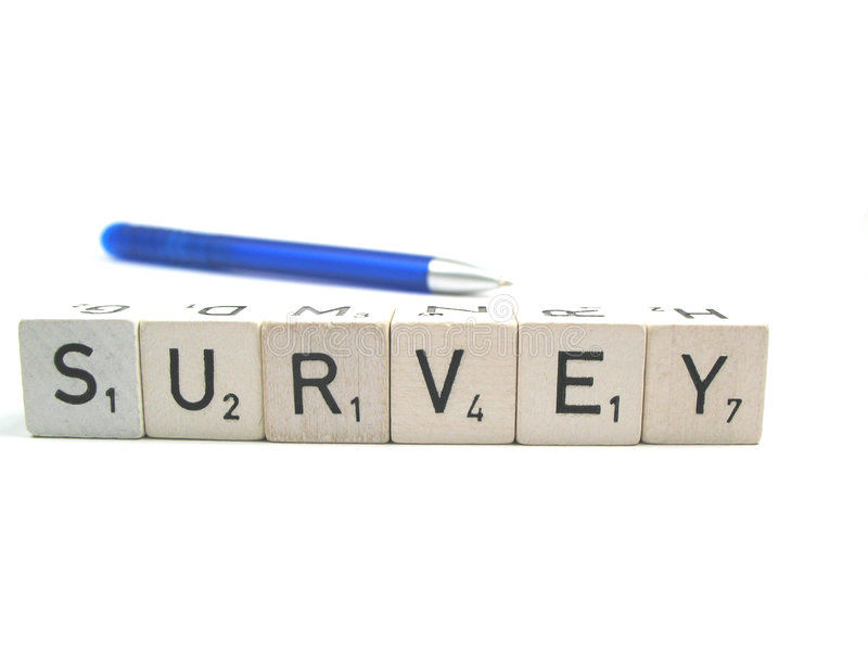 Survey royalty free stock images