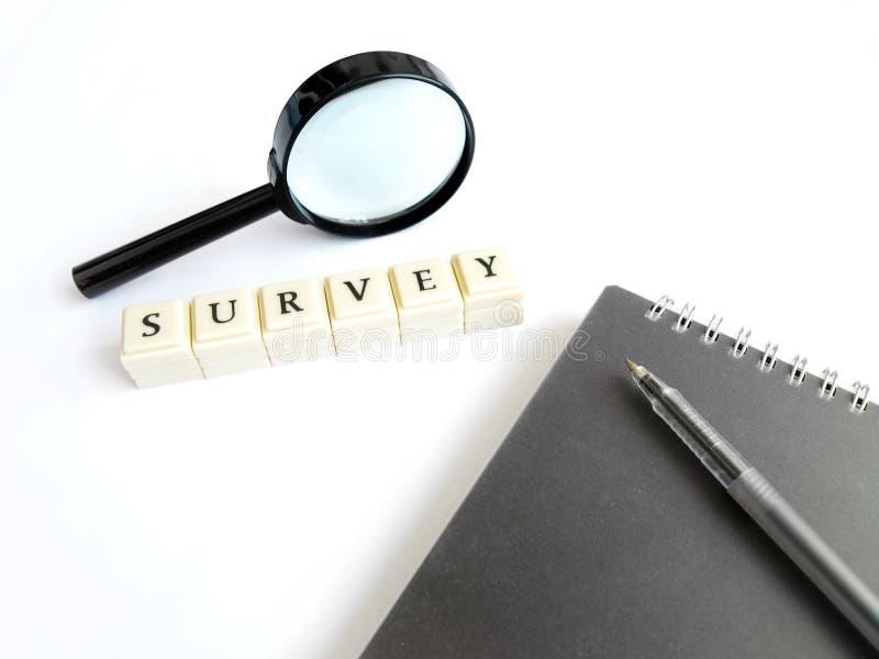 Survey concept stock image