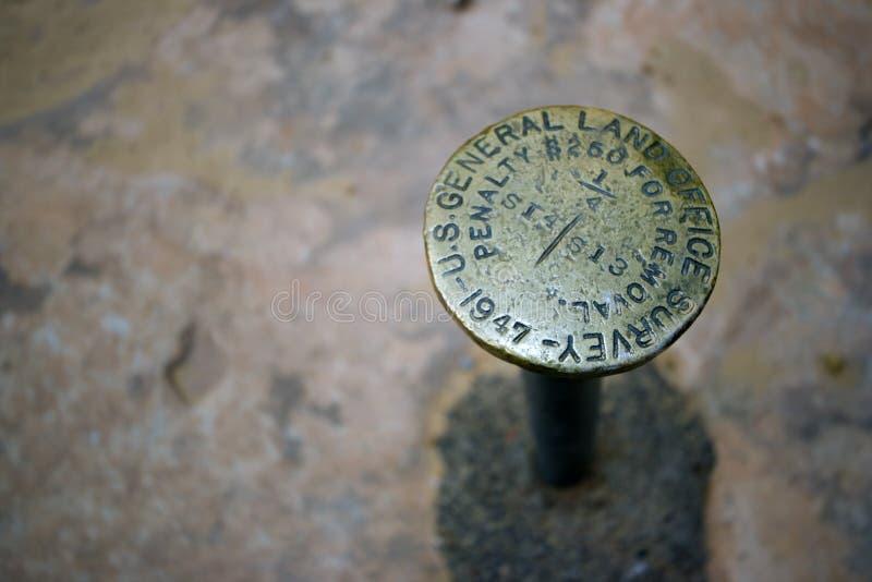 Survey Monument Stock Images
