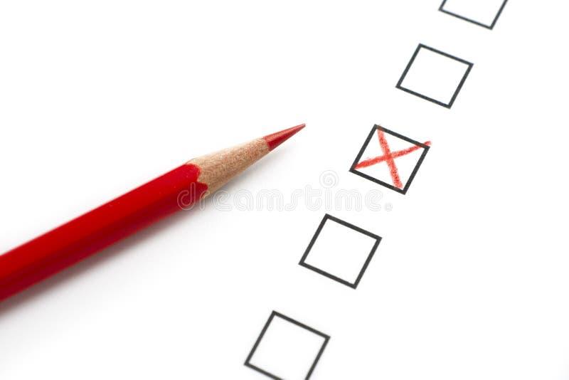 Survey Questionnaire stock photo