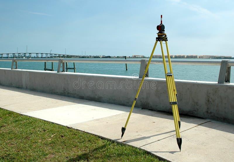 Surveying stock image