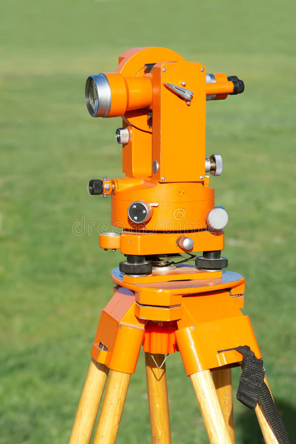 Surveying Instrument Stock Images