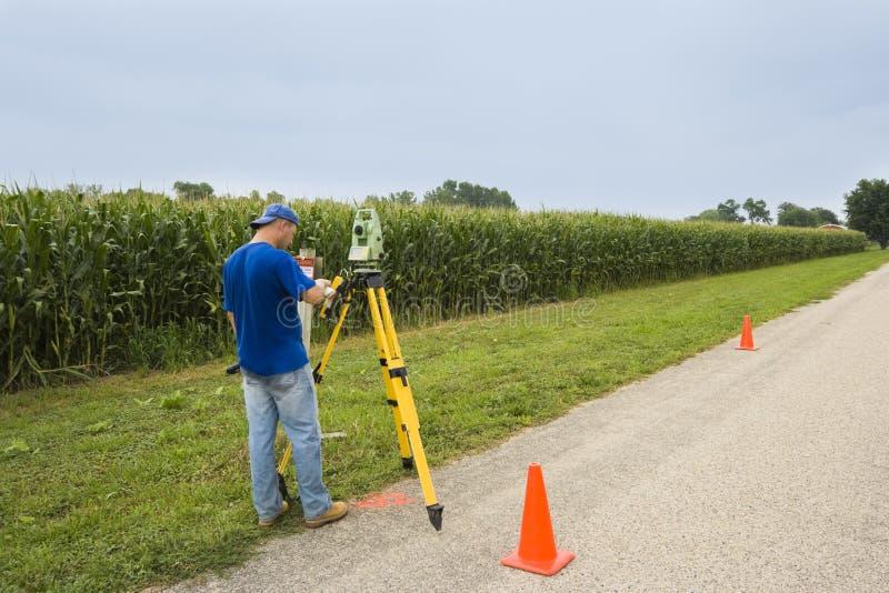 Download Surveying the village stock image. Image of target, instrument - 15417169