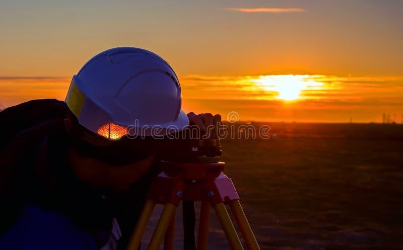 Surveyor royalty free stock image