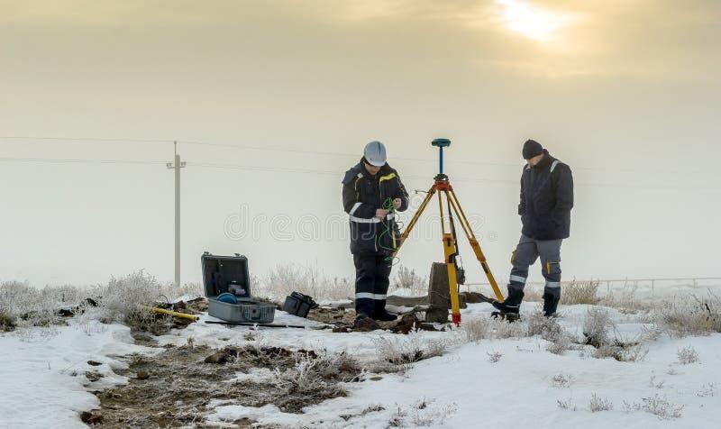 Surveyor. royalty free stock images