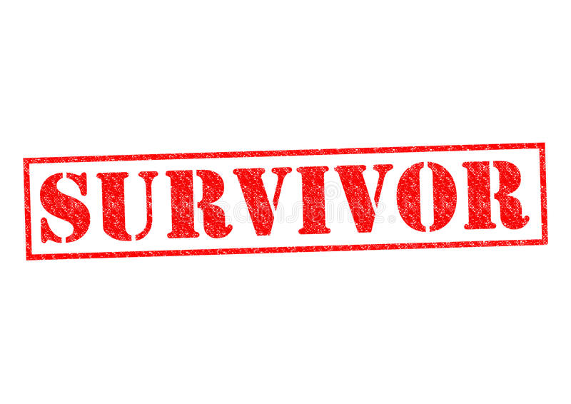 survivant illustration stock