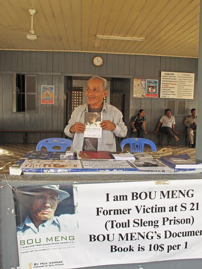 Survivor of Tuol Sleng Prison stock photo