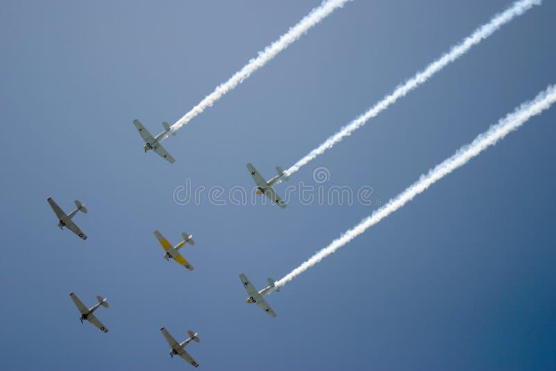 Survol par Squadron photos libres de droits