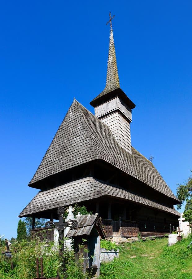 sus salistea церков de maramures старый деревянный стоковые изображения rf