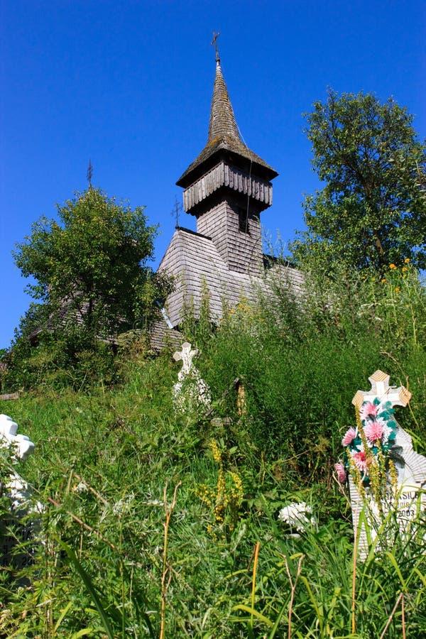 sus salistea церков de maramures старый деревянный стоковое изображение rf