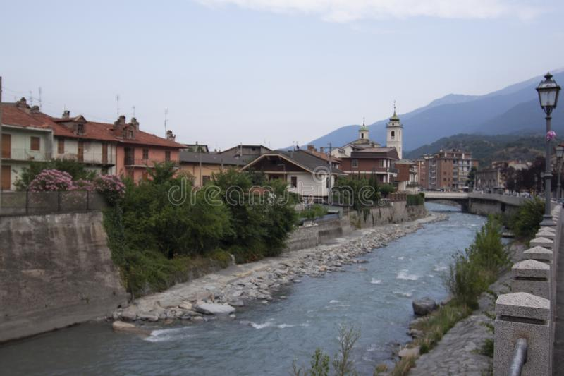 Susa Valley Susa country Turin Piedmont Italy.  royalty free stock photography
