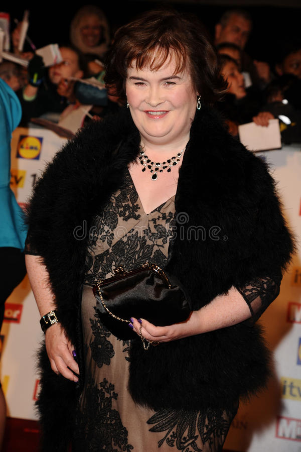 Susan Boyle photo stock
