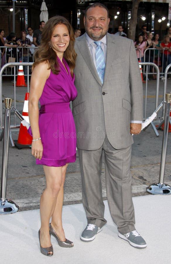 Susan Downey i Joel srebro fotografia royalty free