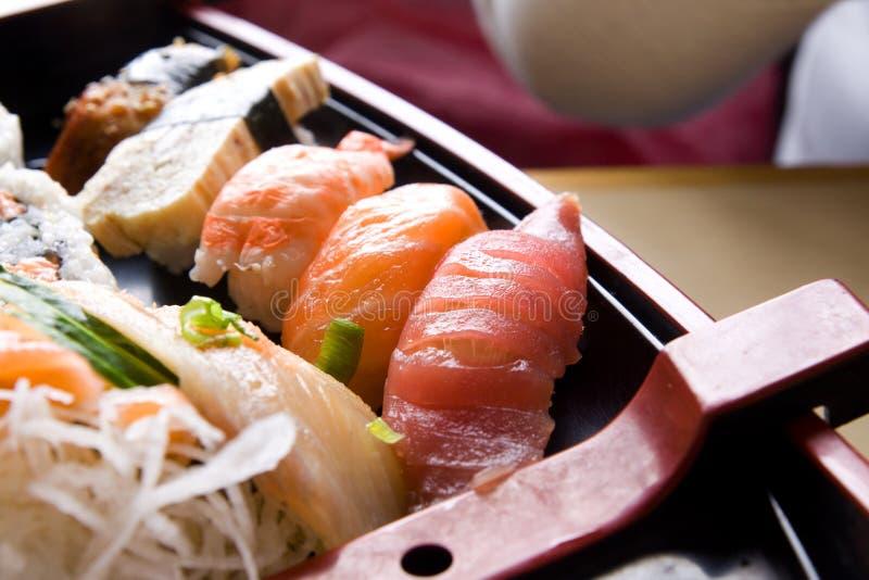 Download Sushi stock afbeelding. Afbeelding bestaande uit zalm - 10780483