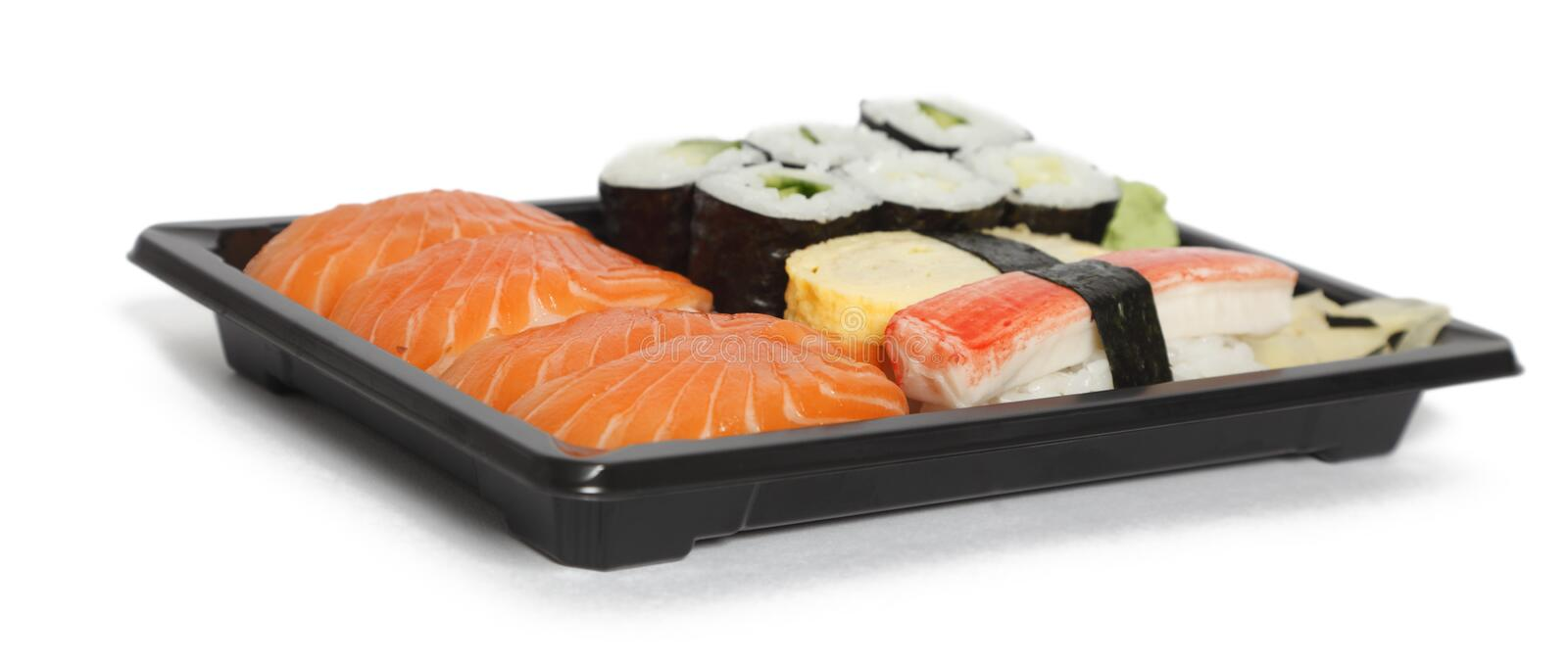Download Sushi stock image. Image of food, isolated, traditional - 14417381