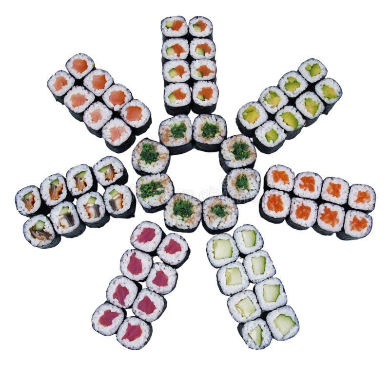 Download Sushi stock illustration. Image of refreshment, japan - 19097253