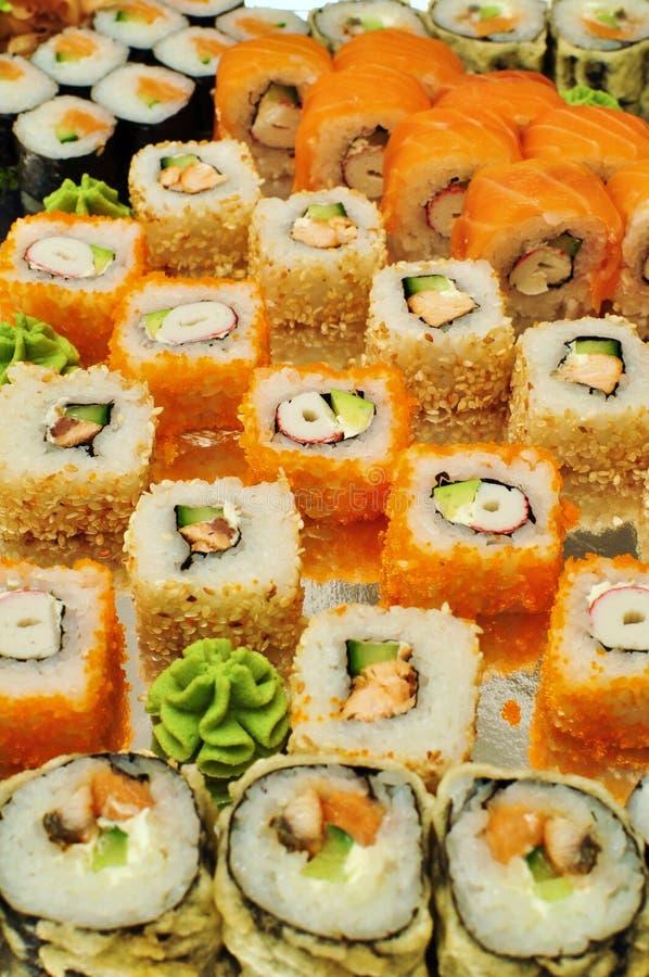 Asian food sushi stock photo