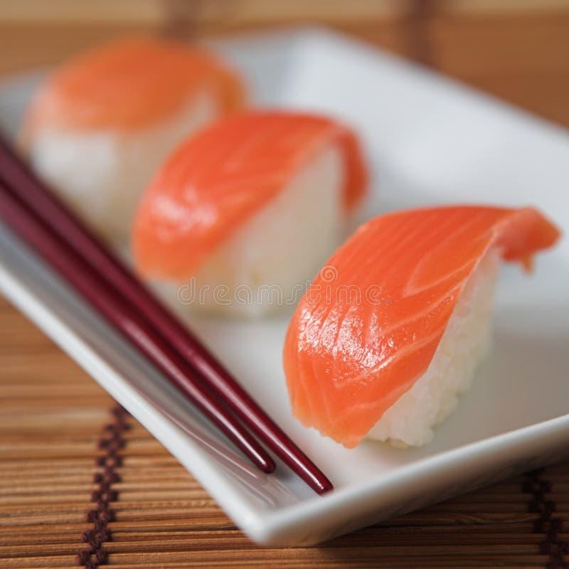 Download Sushi stock image. Image of fish, tekka, salmon, rice - 3563815