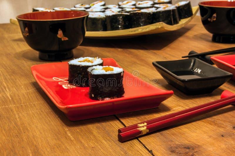 Sushi immagine stock