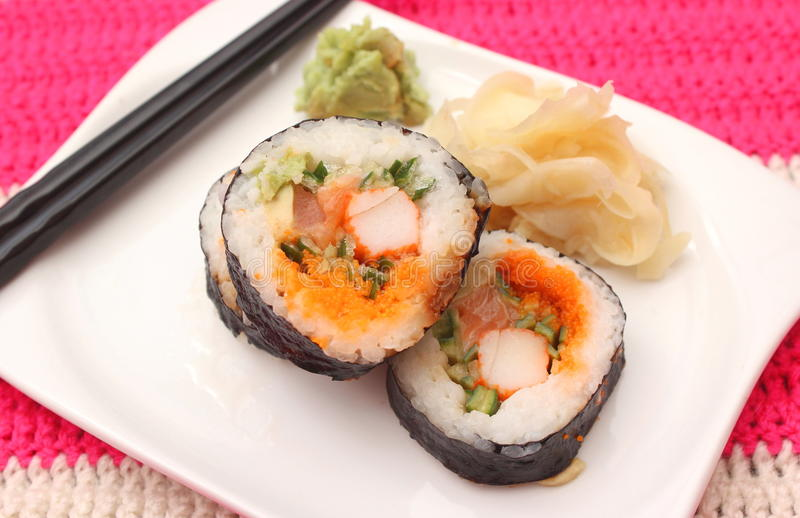 Sushi fotografía de archivo
