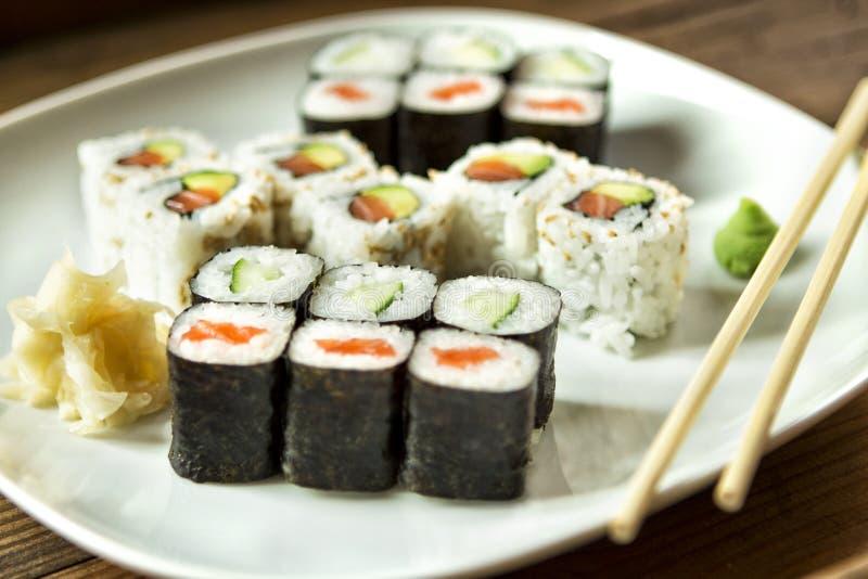 Sushi 8 royaltyfri bild