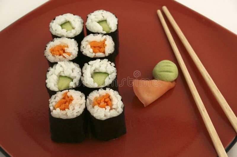 Sushi royalty-vrije stock fotografie