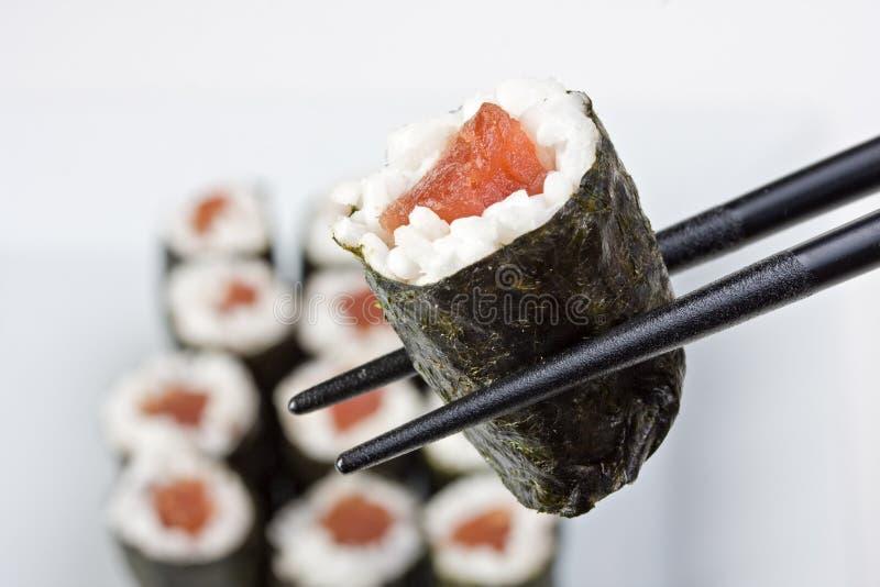 Download Sushi image stock. Image du part, bambou, sauce, japonais - 8654113