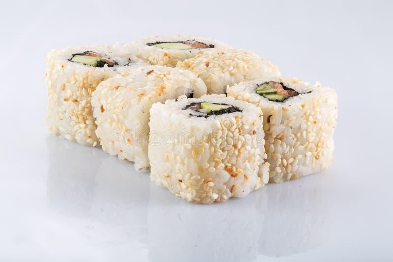 Download Sushi stockfoto. Bild von blatt, gesund, abschluß, befestigungsklammer - 90233122