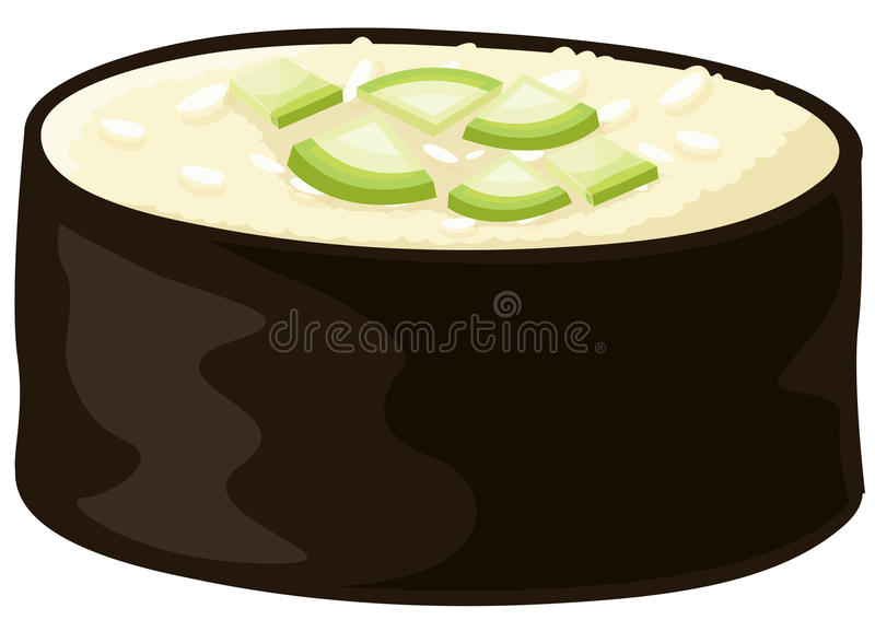 Sushi ilustração royalty free