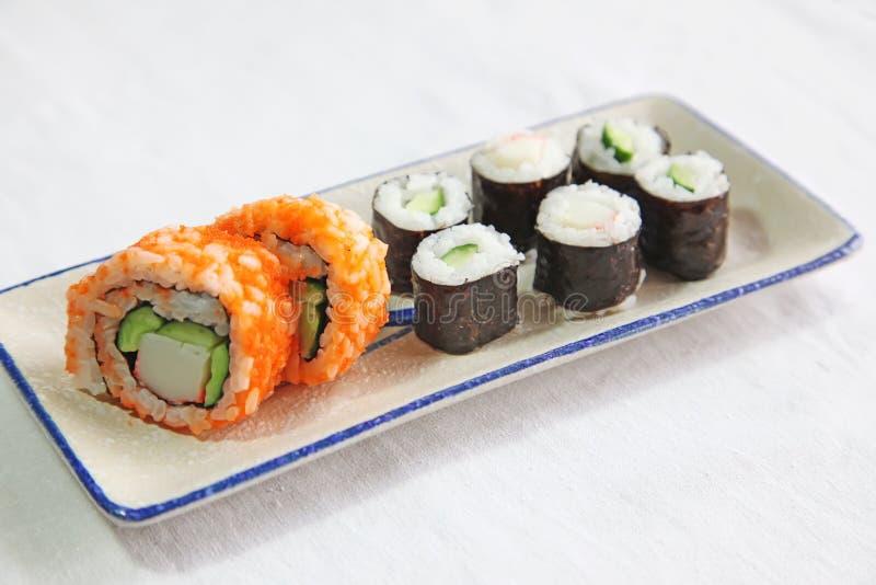 Sushi assortis photos stock