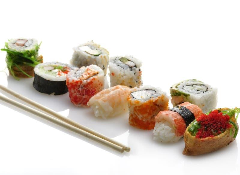 Sushi Assortment Stock Image