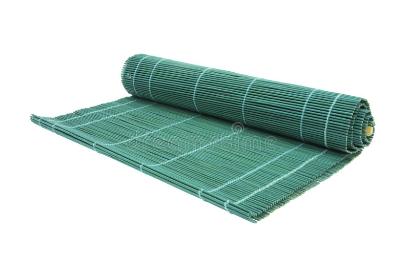 Download Sushi Bamboo Mat stock image. Image of oriental, roll - 8937511