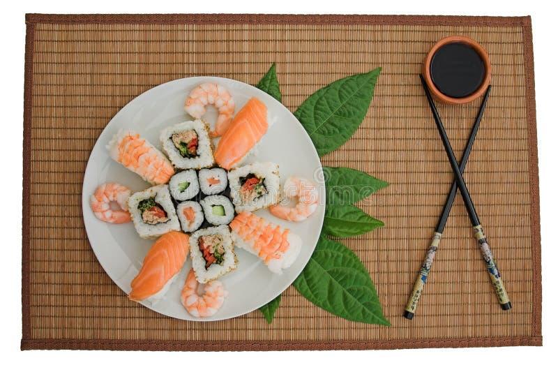 Sushi! Blessyou? fotografia stock