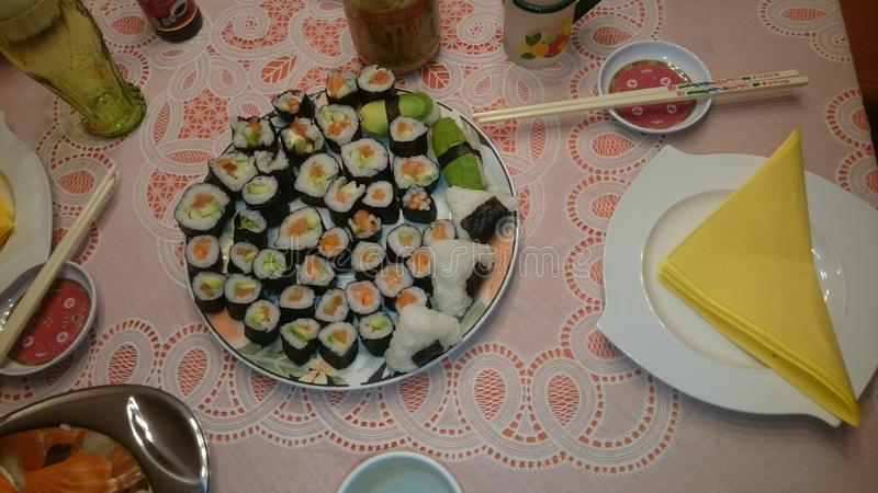 Sushi boom royalty free stock photos
