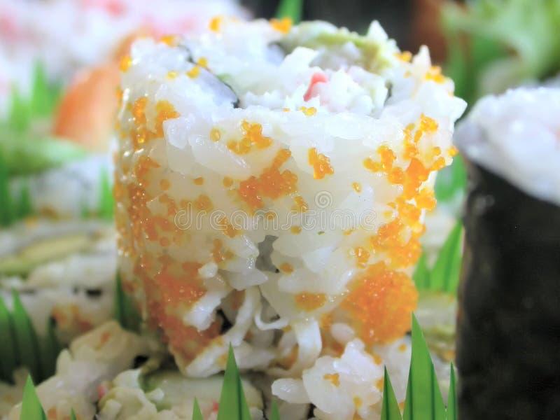 Sushi California Roll royalty free stock photography